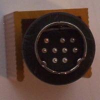 Mini-DIN 9p line plug
