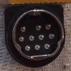 Etim Net Au Mini Din 10p Line Plug