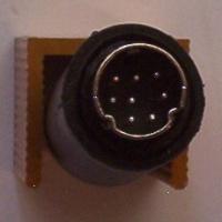 Mini-DIN 8p line plug