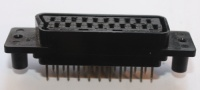 SCART socket PCB mount