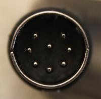 DIN 8p line plug