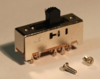 Slide switch, four position