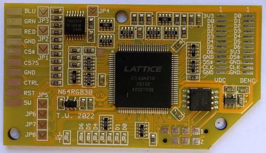 N64RGB board