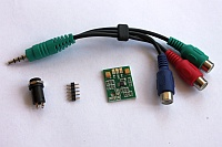 NESRGB/2600RGB Component Video Board