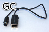 Console adapter cable for Nintendo Gamecube